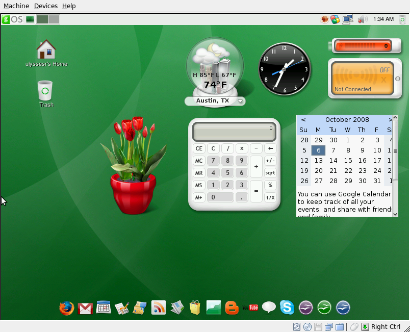 Installing VirtualBox in Ubuntu 8.04
