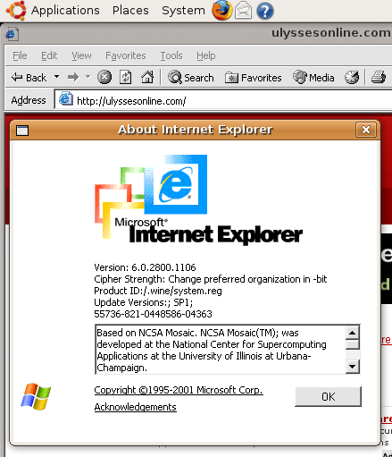 Internet Explorer In Ubuntu