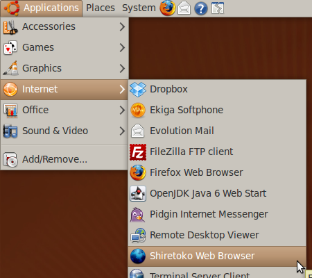 Install Firefox 3.5 on Ubuntu 9.04