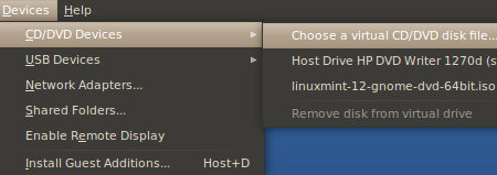 Boot Virtualbox From ISO