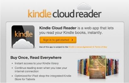 Kindle Cloud Reader on Ubuntu
